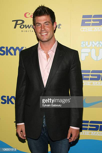 Jesse Palmer during ESPN Magazine Summer Fun Party Arrivals at Pier 59 at Chelsea Piers in New York City New York United States