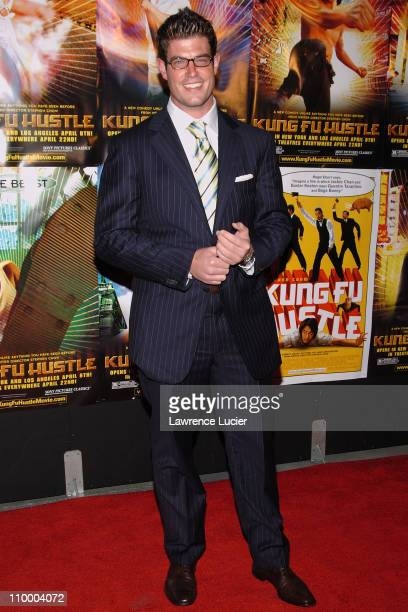 Jesse Palmer during New York Premiere of Kung Fu Hustle at Ziegfeld Theater in New York City New York United States