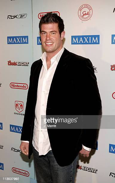 Jesse Palmer during Super Bowl XXXIX The 'Maximony' Super Ball Party Arrivals February 5 2005 at The Garden Club in Jacksonville Florida United States