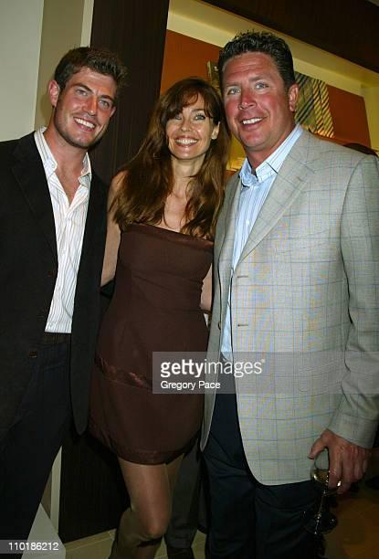 Jesse Palmer NFL New York Giants quarterback and new The Bachelor Carol Alt and Dan Marino