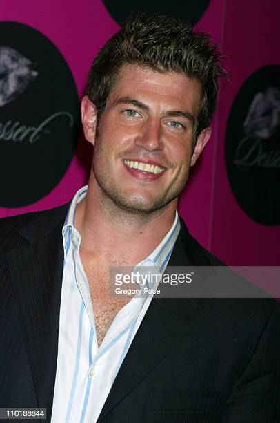 Jesse Palmer of The Bachelor during Jessica Simpson and Nick Lachey Host Dessert Beauty Launch Party Pink Carpet Arrivals at Marquee in New York City...