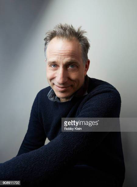 Jesse Peretz from the film 'Juliet Naked' poses for a portrait at the YouTube x Getty Images Portrait Studio at 2018 Sundance Film Festival on...