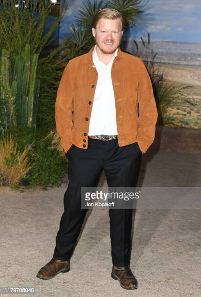 """Jesse Plemons attends the premiere of Netflix's """"El Camino: A Breaking Bad Movie"""" at Regency Village Theatre on October 07, 2019 in Westwood,..."""