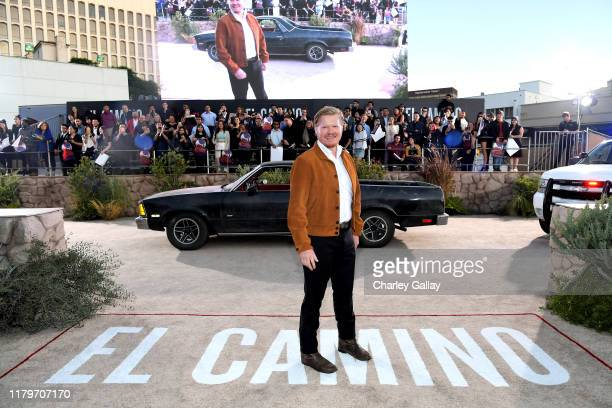 Jesse Plemons attends the World Premiere of El Camino A Breaking Bad Movie at the Regency Village on October 07 2019 in Los Angeles California