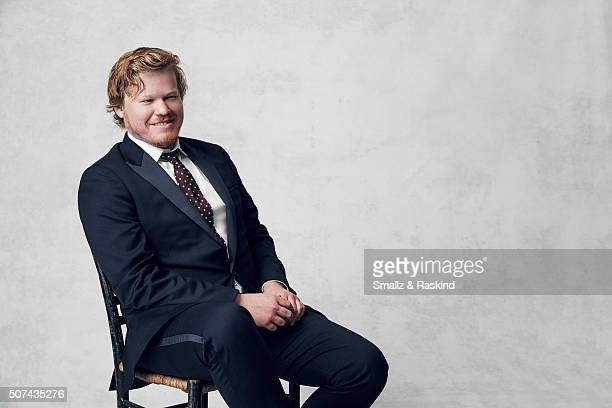 Jesse Plemons poses for a portrait during the 21st Annual Critics' Choice Awards at Barker Hangar on January 17 2016 in Santa Monica California