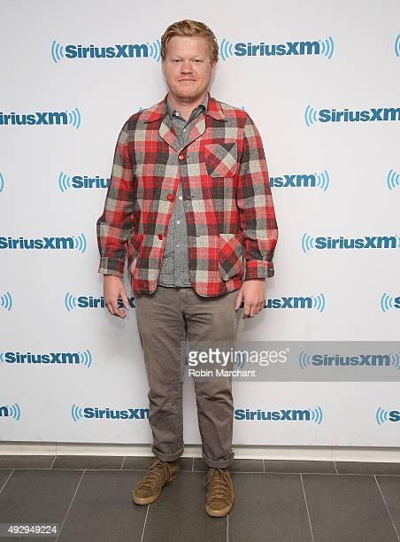 Jesse Plemons visits at SiriusXM Studios on October 16 2015 in New York City