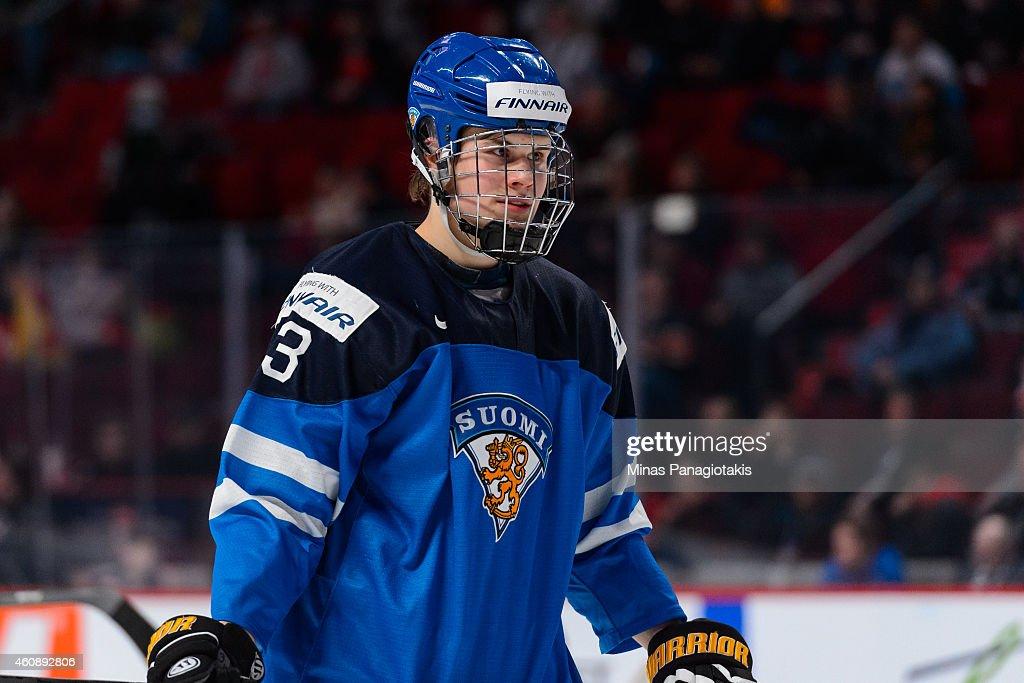 Finland v Slovakia - 2015 IIHF World Junior Championship : News Photo