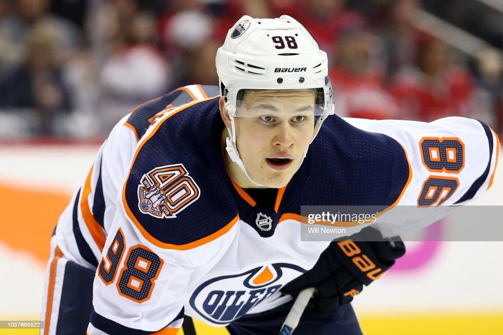 Edmonton Oilers v Washington Capitals : News Photo
