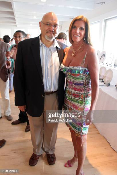 Jesse Ramos and Amy Chanos attend MIRACLE HOUSE 20th Anniversary Memorial Day Summer Kickoff Benefit honoring Amy Chanos and Jim Chanos at...