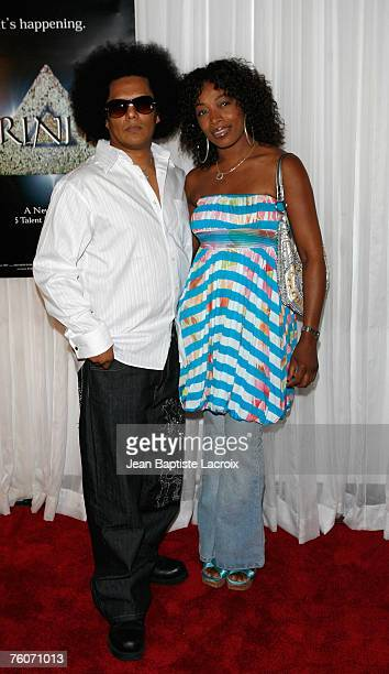 Jesse Raudales and guest arrive at the screening of the new television series 'Trinity' at the Level 3 nightclub on August 12 2007 in Los Angeles...