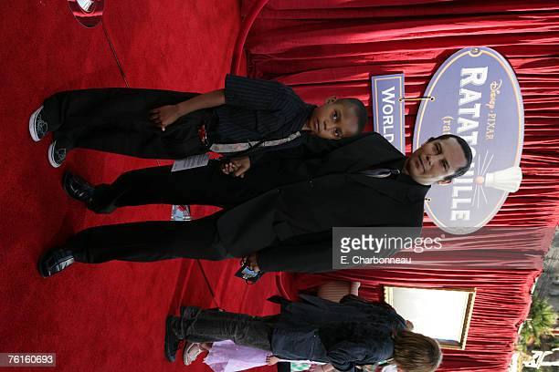 Jesse Raudales and son
