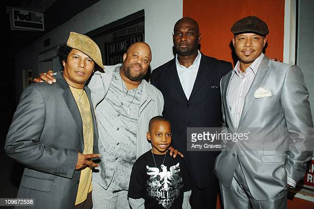 Jesse Raudales Mark Christopher Lawrence Terrence Howard and Jesse Jr