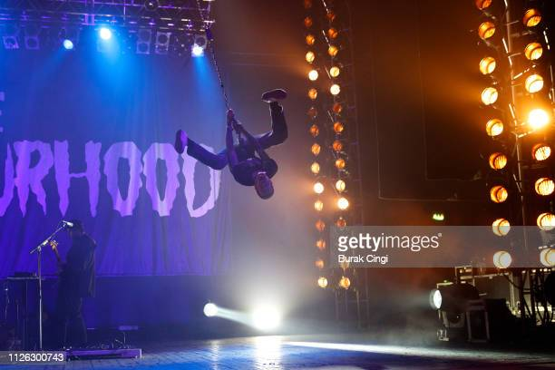 Jesse Rutherford of The Neighbourhood performs at O2 Academy Brixton on January 30, 2019 in London, England.