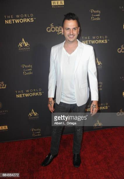Jesse S arrives for The World Networks Presents Launch Of The Goddess Empowered held at Brandview Ballroom on May 17 2017 in Glendale California