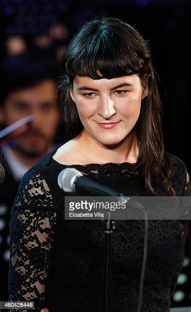 Jesse Smith attends the Christmas Concert 2014 at Auditorium Conciliazione on December 13 2014 in Rome Italy