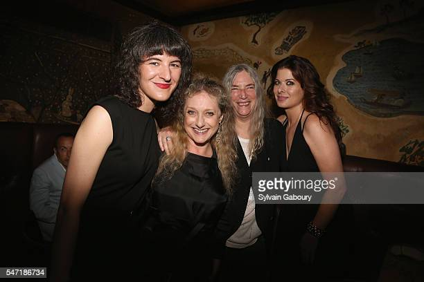 Jesse Smith Carol Kane Patti Smith and Debra Messing attend Amazon Lionsgate with The Cinema Society Host the After Party for Cafe Society at The...