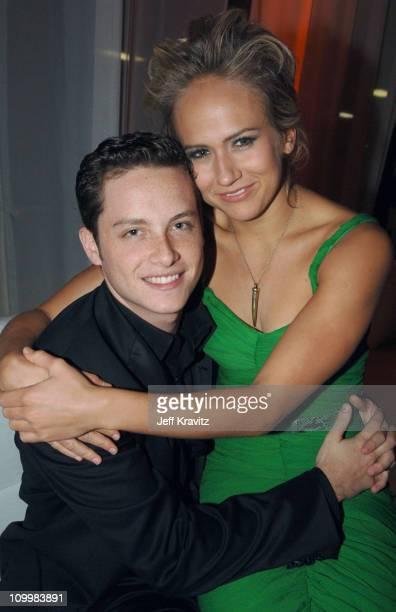 Jesse Soffer and Jennifer Landon during 32nd Annual People's Choice Awards Bombay Sapphire After Party at Shrine Auditorium in Los Angeles California...