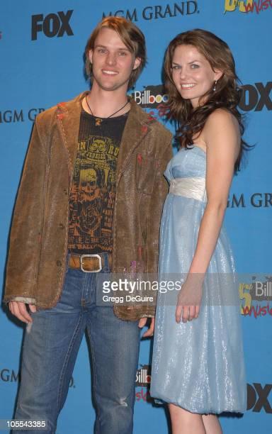 Jesse Spencer and Jennifer Morrison, presenters during 2005 Billboard Music Awards - Press Room at MGM Grand in Las Vegas, Nevada, United States.