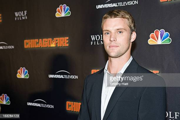 """Jesse Spencer attends NBC's """"Chicago Fire"""" premiere at the Chicago History Museum on October 2, 2012 in Chicago, Illinois."""