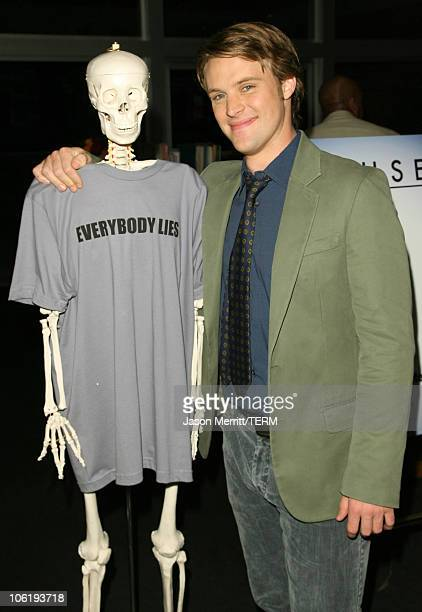 Jesse Spencer during House Announces Creation of Exclusive Houseism Tees at 20th Century Fox Lot in Los Angeles California United States