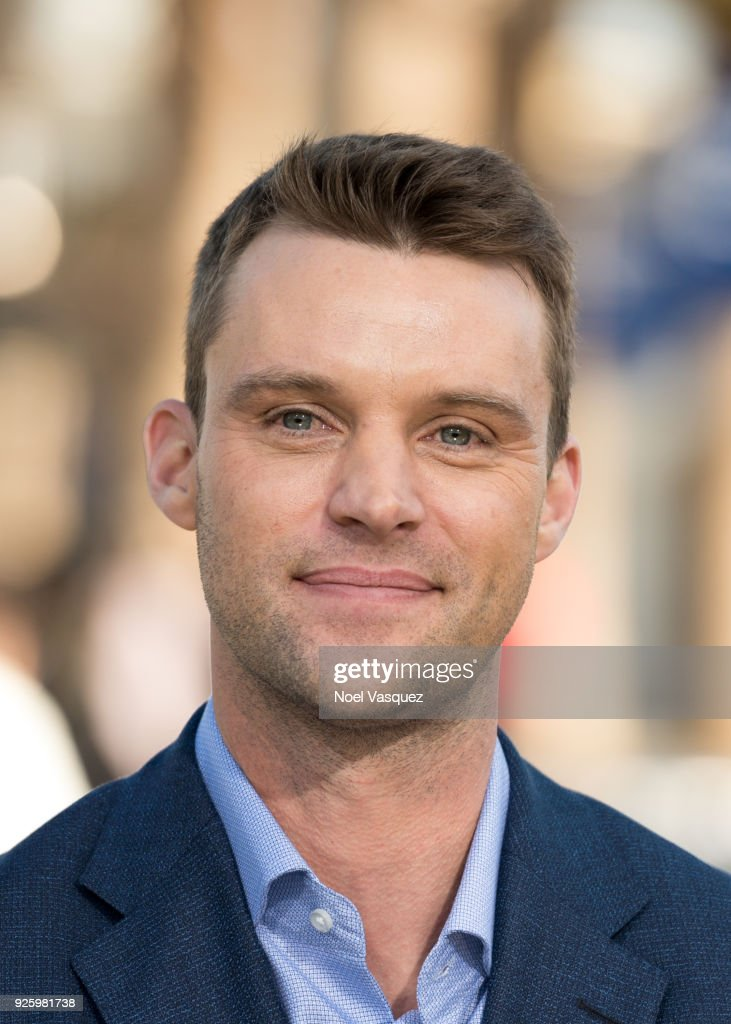 Jesse Spencer visits 'Extra' at Universal Studios Hollywood on March 1, 2018 in Universal City, California.