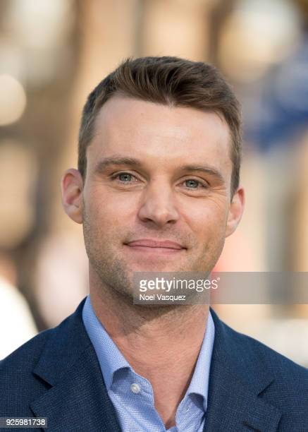 Jesse Spencer visits Extra at Universal Studios Hollywood on March 1 2018 in Universal City California