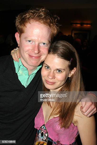 Jesse Tyler Ferguson and Celia Keenan Bolger during Opening Night After Party for Jersey Boys on Broadway at The August Wilson Theater and The...
