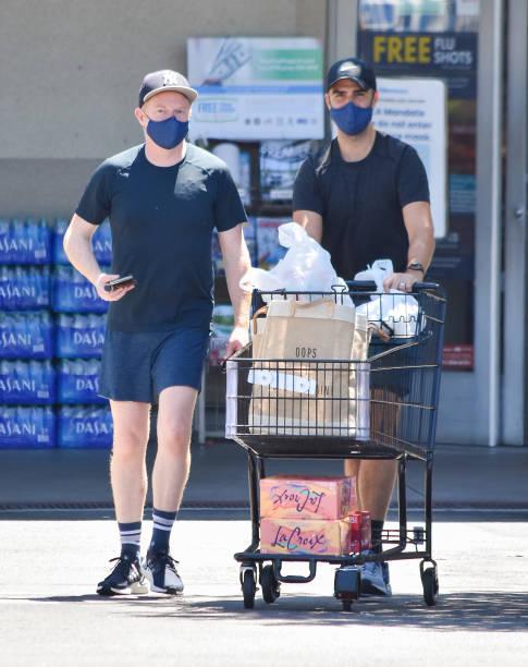 CA: Celebrity Sightings In Los Angeles - August 08, 2020