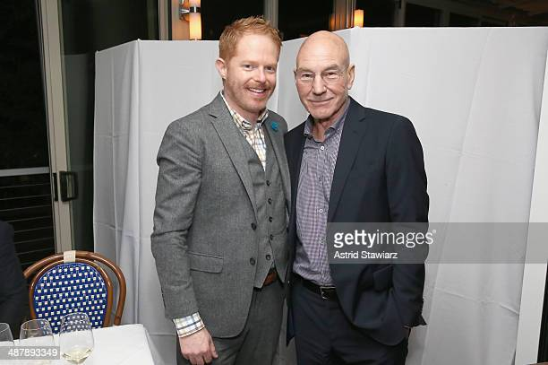 Jesse Tyler Ferguson and Patrick Stewart attend the Dom Perignon and Eric Podwall host of the evening before The White House Correspondents' Dinner...