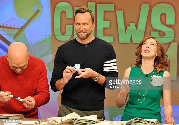 THE CHEW 4/28/16 Jesse Tyler Ferguson appears on THE CHEW airing MONDAY FRIDAY on the ABC Television Network MEMBER