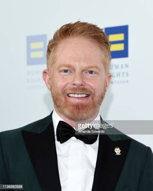 Jesse Tyler Ferguson arrives at The Human Rights Campaign 2019 Los Angeles Dinner at the JW Marriott Los Angeles at LA LIVE on March 30 2019 in Los...
