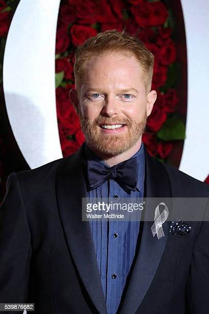 Jesse Tyler Ferguson arrives for the 70th Annual Tony Awards at Beacon Theatre on June 12 2016 in New York City