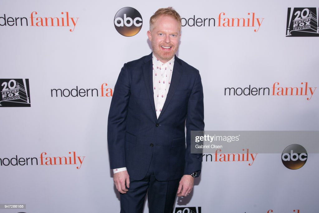 Jesse Tyler Ferguson arrives for the FYC Event for ABC's 'Modern Family' at Avalon on April 16, 2018 in Hollywood, California.
