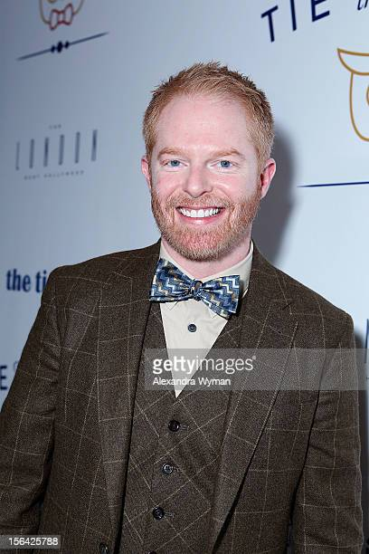 Jesse Tyler Ferguson at the launch of Tie The Knot a charity benefitting marriage equality through the sale of limited edition bowties available...