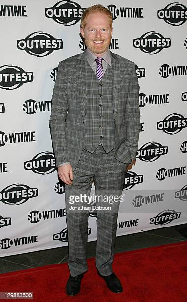 Jesse Tyler Ferguson attends the 2011 Outfest Legacy Awards at Directors Guild Of America on October 20 2011 in Los Angeles California