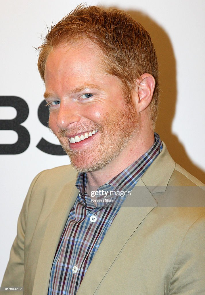 Jesse Tyler Ferguson attends the 2013 Tony Awards Nominations at The New York Public Library for Performing Arts on April 30, 2013 in New York City.