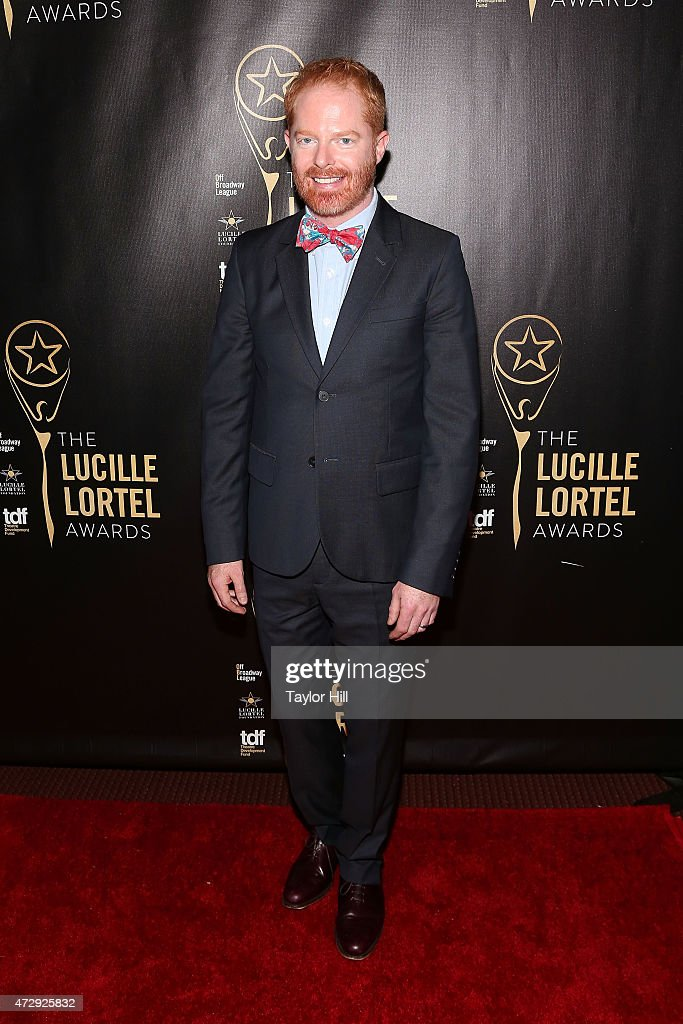 Jesse Tyler Ferguson attends the 2015 Lucille Lortel Awards at NYU Skirball Center on May 10, 2015 in New York City.