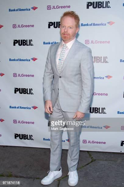 Jesse Tyler Ferguson attends the 2018 Public Theater Gala at Delacorte Theater on June 11 2018 in New York City