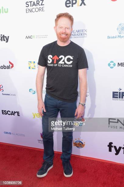 Jesse Tyler Ferguson attends the 2018 Stand Up To Cancer fundraising special telecast at Barker Hangar on September 7 2018 in Santa Monica California