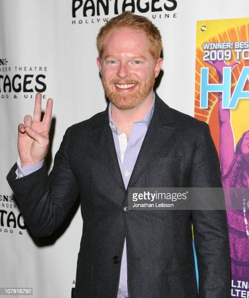 Jesse Tyler Ferguson attends the HAIR Los Angeles Premiere Opening Night at the Pantages Theatre on January 6 2011 in Hollywood California