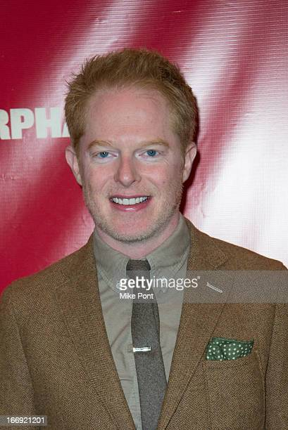 Jesse Tyler Ferguson attends the Orphans Broadway opening night at the Gerald Schoenfeld Theatre on April 18 2013 in New York City