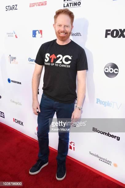 Jesse Tyler Ferguson attends the sixth biennial Stand Up To Cancer telecast at the Barkar Hangar on Friday September 7 2018 in Santa Monica California