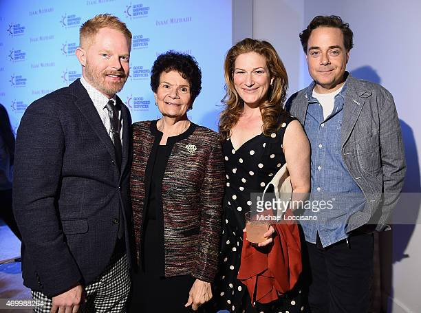 Jesse Tyler Ferguson, Paulette LoMonaco, Ana Gasteyer, and Charlie McKittrick attend the Good Shepherd Services Spring Party 2015 hosted by Isaac...