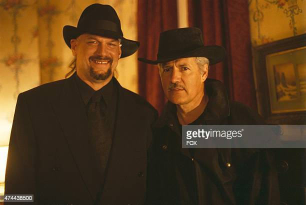Jesse Ventura and Alex Trebek guest star on THE XFILES episode Jose Chung's from Outer Space which originally aired Sunday April 12 1996