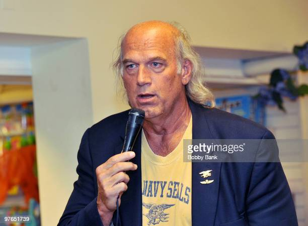 Jesse Ventura promotes his book ''American Conspiracies'' at Bookends on March 11, 2010 in Ridgewood, New Jersey.