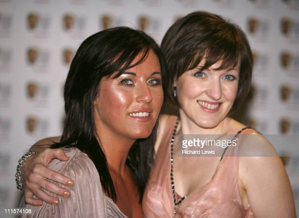 Jesse Wallace and Kacey Ainsworth during The 2006 British Academy Television Awards Press Room at Grosvenor House in London Great Britain