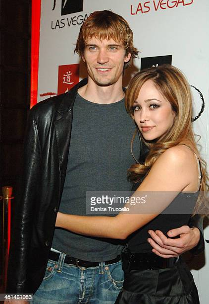 Jesse Warren and Autumn Reeser during Autumn Reeser at TAO Asian Bistro at The Venetian Hotel and Casino Resort January 06 2007 at TAO Asian Bistro...