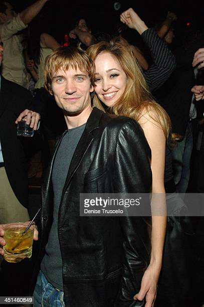 Jesse Warren and Autumn Reeser during Autumn Reeser Celebrates Boyfriend Jesse Warren's Birthday at TAO Nightclub at The Venetian Hotel and Casino...