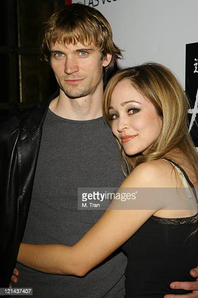 Jesse Warren and Autumn Reeser during Autumn Reeser Hosts an Evening at TAO Nightclub in Las Vegas at Tao Nightclub at The Venetian in Las Vegas...