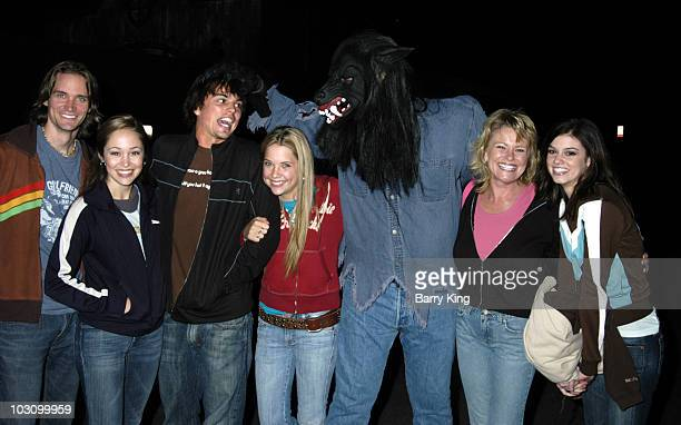 Jesse Warren Autumn Reeser Darin Brooks Ashley Benson Werewolf Judi Evans and Rachel Melvin